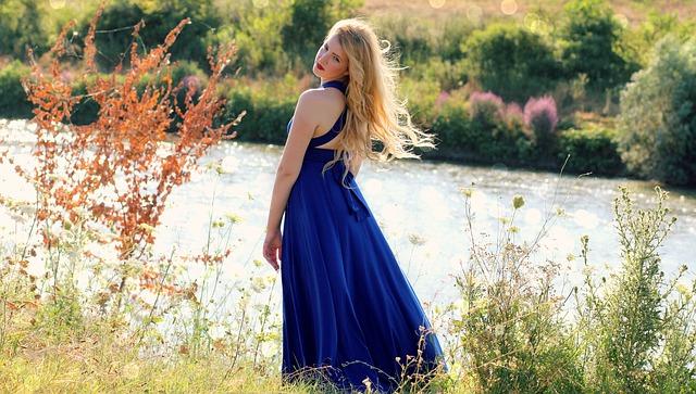 A kék ruha