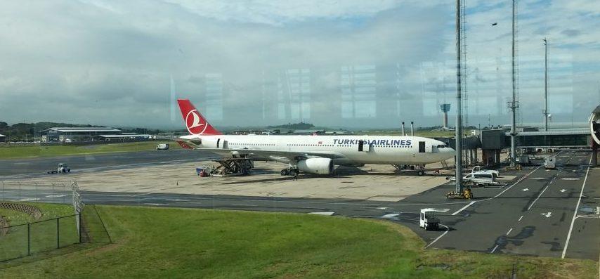 Repülés előtt és közben – Dél-Afrika